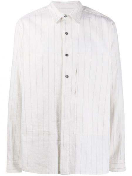 Koszula z długim rękawem klasyczna w paski Ann Demeulemeester