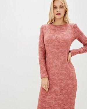 Платье розовое прямое Marytes
