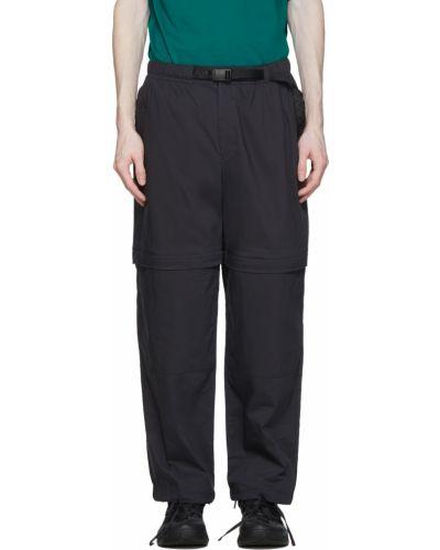 Czarne spodnie z paskiem bawełniane Nike Acg