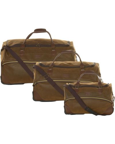 Brązowa torba podróżna Kangol