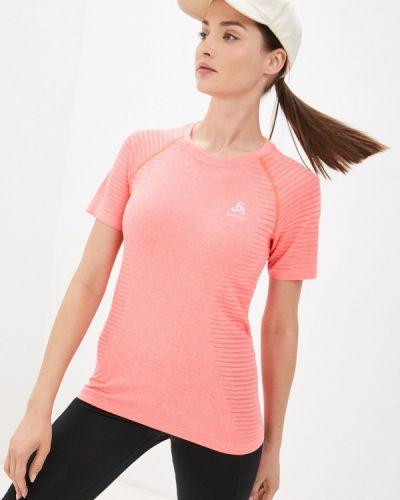 Спортивная красная футболка Odlo