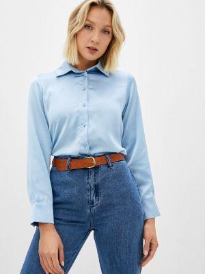 Блузка с длинными рукавами - голубая Moru