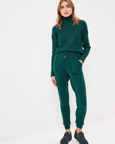 Зеленый брючный костюм Moki