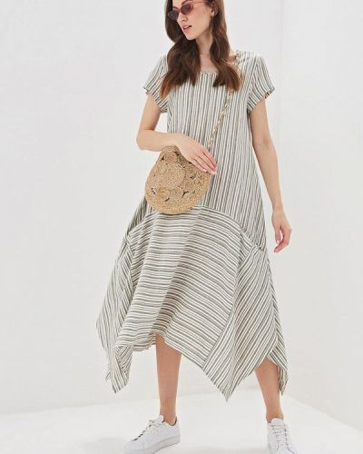 Платье - серое Massimiliano Bini