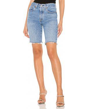 Джинсовые шорты с карманами на пуговицах со стразами Levi's®