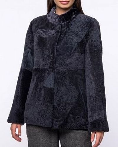 Куртка с мехом - серая Dzhanbekoff