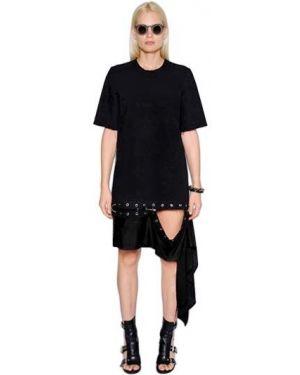 Платье мини короткое - черное Damir Doma