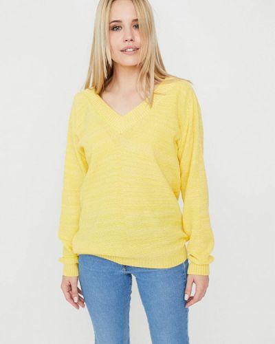 Желтый пуловер Прованс