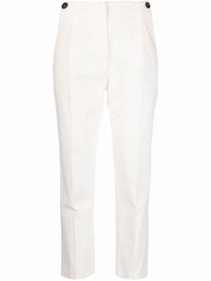 Белые хлопковые брюки Tela