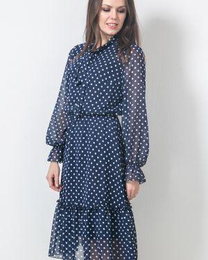 Платье в горошек шифоновое Modellos