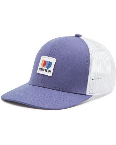 Niebieska czapka z daszkiem Brixton
