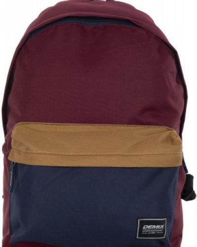 Рюкзак спортивный для ноутбука красный Demix