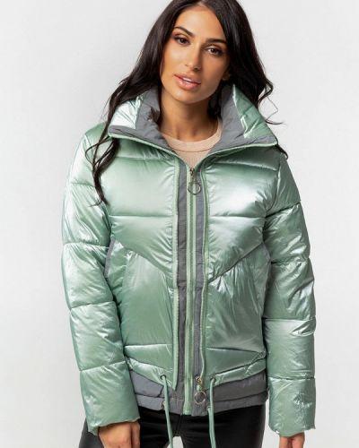 Бирюзовая теплая куртка Whitefox