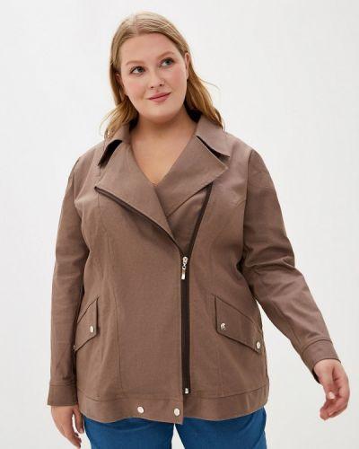 Джинсовая куртка - коричневая Jp