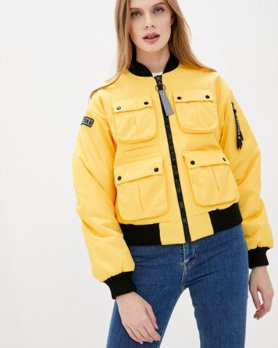 Теплая желтая куртка Doctor E
