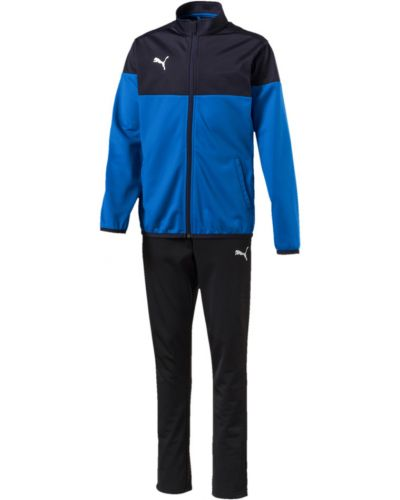 Спортивный костюм с карманами синий Puma