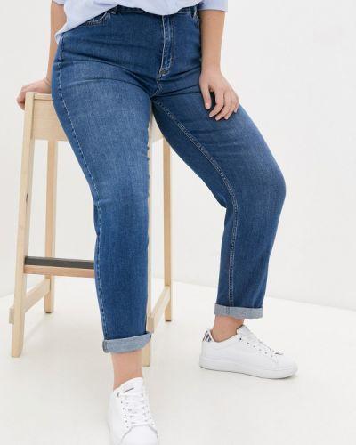 Синие джинсы бойфренды Le Monique