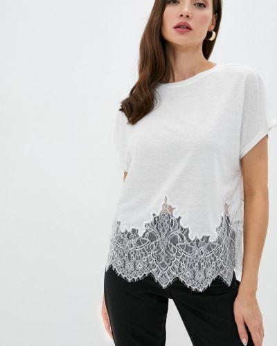 Белая футболка с короткими рукавами Love Republic