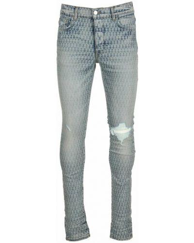 Szare mom jeans Amiri