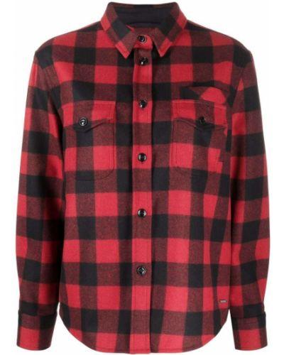 Черная шерстяная рубашка Woolrich