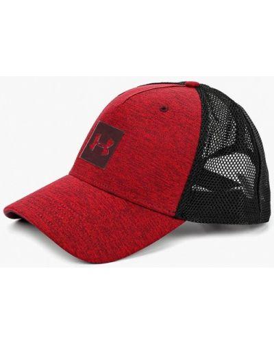 Красная бейсболка Under Armour