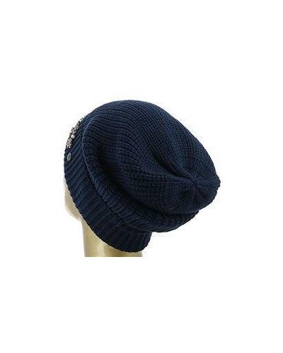 Синяя шапка Armani Jeans