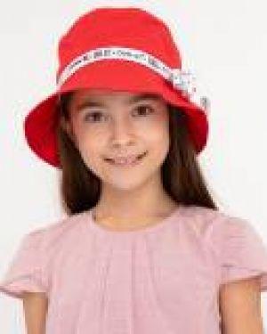 Облегченная красная шапка Button Blue