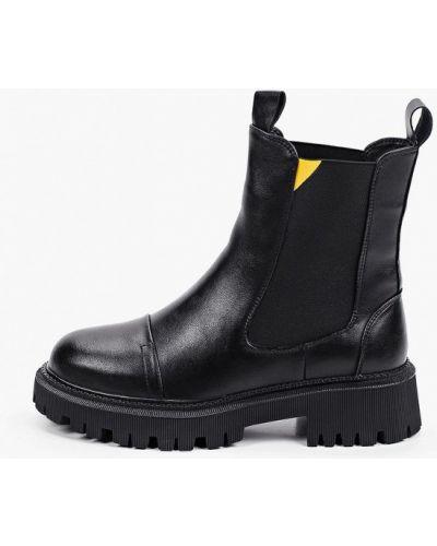 Черные высокие ботинки Wilmar