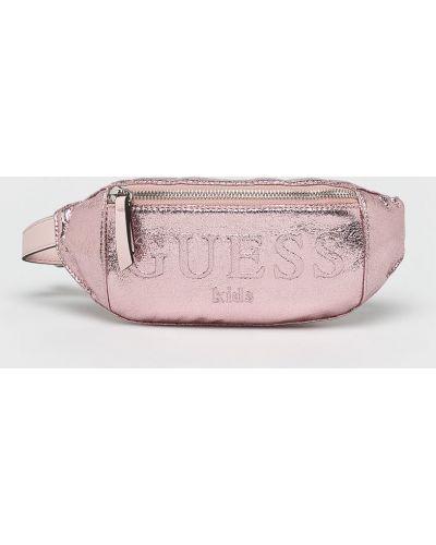 Сумка розовый из искусственной кожи Guess Jeans