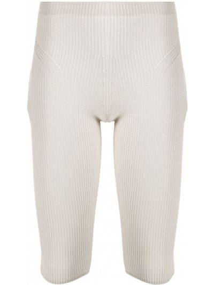Prążkowane legginsy z wiskozy Jacquemus