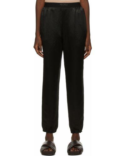 Черные брюки с манжетами Max Mara Leisure