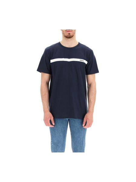 Niebieska t-shirt A.p.c.
