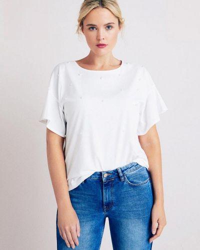 Белая футболка Violeta By Mango