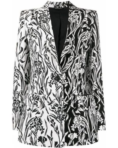 Z rękawami czarny długa kurtka z kieszeniami Givenchy