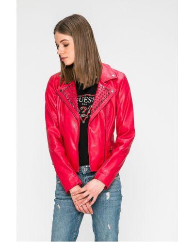 Джинсовая куртка кожаная облегченная Guess Jeans