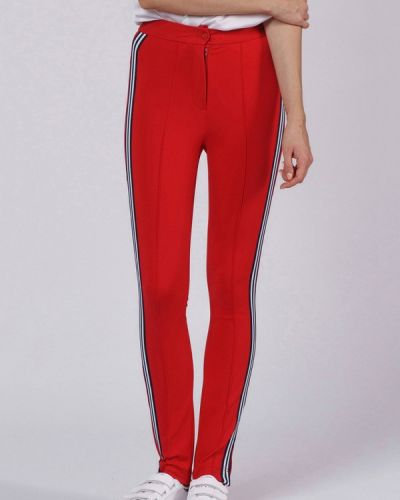 Красные спортивные брюки Oks By Oksana Demchenko