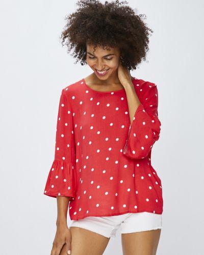 Блузка прямая с вырезом Vila