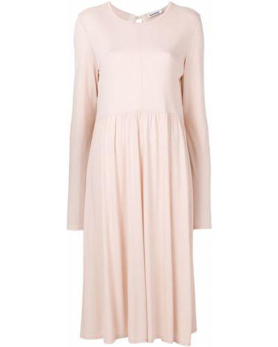 Платье платье-солнце хлопковое Jil Sander