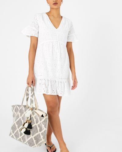 Платье мини - белое Accessorize