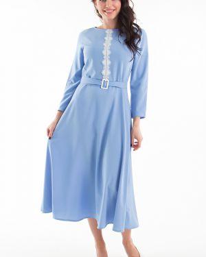 Кружевное платье - голубое Taiga