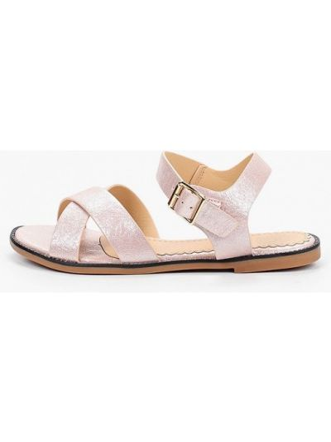Кожаные розовые сандалии Inario