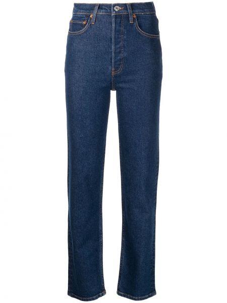 Klasyczne mom jeans - niebieskie Re/done