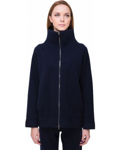 Куртка осенняя синий Tsarevna