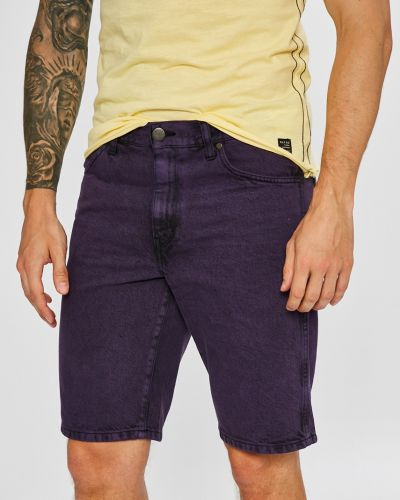 Джинсовые шорты прямые хлопковые Wrangler