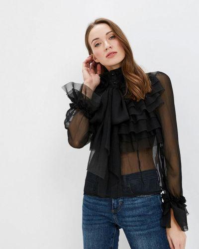 Блузка черная Paccio