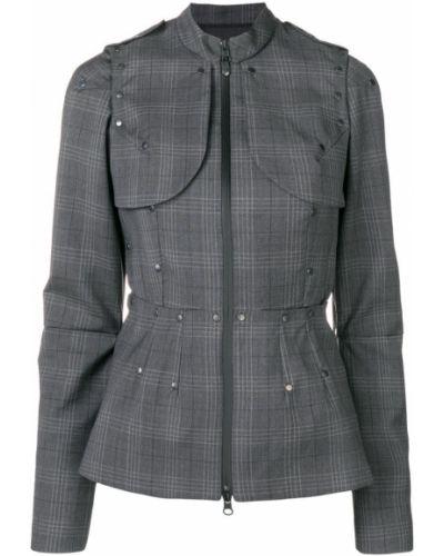 Куртка в клетку - серая A.f.vandevorst