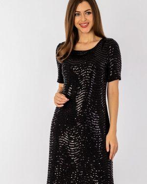 Вечернее платье осеннее черное S&a Style