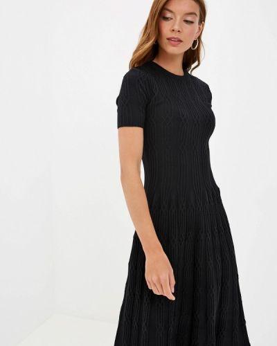 Платье прямое черное наше