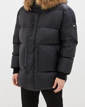 Зимняя куртка черная осенняя Odri