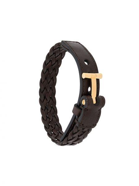 Brązowa złota bransoletka Tom Ford